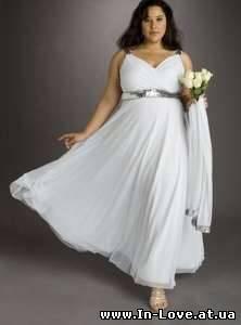 Как подобрать свадебное платье для полной фигуры?